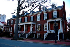 "Fredericksburg rowhouses • <a style=""font-size:0.8em;"" href=""http://www.flickr.com/photos/59137086@N08/7894220452/"" target=""_blank"">View on Flickr</a>"