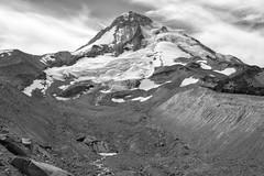 Receading Glaciers, Mt. Hood (Scott Withers Photography) Tags: eliotglacier moraine mthood oregon sonya7rii sonyfe2470mmf28gm