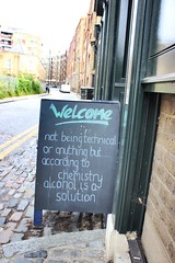 Welcome, not being technical or anything but.... (maggie jones.) Tags: london uk england wit pub
