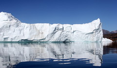 Iceberg with a refection (twiga269  FEMEN #JeSuisCharlie) Tags: twiga269 om  whatareyoutrainingfor gettingstrongereveryday wanderlust wilderness mountainwilderness mw gngl grandnordgrandlarge gro023 iceisbeautiful greenland kalaallit nunaat kalaallitnunaat disko bay baiededisko diskobugten iceberg ilulissat qeqertaq saqqaq groenland grnland groenlandia grnland grenlandia   kayak ice hielo glace glacier immense gletscher ericchazal arctic diskoline inlandsis torssukatak kangilerngata kangilerngatasermia eqi eqip sermia smallesund