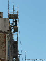 chafaudage christel-le 2015 (christel-le) Tags: echafaudage scaffold bleu