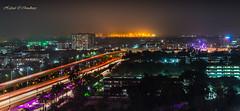 Dhaka City At Night (Hafizul I Choudhury) Tags: nightphotography longshutter lighttrails night city