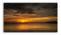 Let's Play Peek-A-Boo (RonnieLMills - 2 Million Views...Thank you All :)) Tags: sunrise dawn sun up peekaboo sunshine early morning daybreak donaghadee harbour lighthouse county down northern ireland