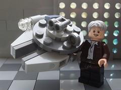 Mini Millennium Falcon (captain_joe) Tags: thefirstletterofmyname macromondays hansolo millennium millenium falcon starwars toy spielzeug 365toyproject lego minifigure minifig starship spaceship moc