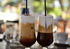 Summer Coffee in Greece: Freddo Cappuccino (Alona Azaria) Tags: cappuccino freddo greek coffee greece theartofdrinkingcoffee