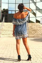 vestido-detalle-encaje (cristinaestebanmazzucchelli) Tags: vestidodenim denimdress lace encaje detalleencaje vestidovaquero denim vestidoverano vestidonoche minivestido vestidofiesta 4uatroestaciones tienda4uatroestaciones