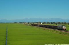 E652 123 (MattiaDeambrogio) Tags: treno treni train trains e652 123 vercelli trenitalia cargo merci carri e