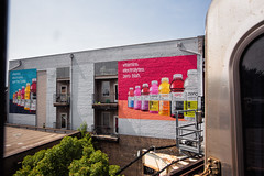 Vitamin Water (Always Hand Paint) Tags: c016 smartwater smartwatercomplete ooh outdoor colossalmedia alwayshandpaint skyhighmurals advertising colossal handpaint mural muraladvertising