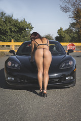 Car & Model (Sage Goulet (SAGO PHOTO)) Tags: car model chevroletcorvette c6 c6corvette corvettemodel bikini babe bikinibabe modelcar bikinisoncars hotty hottie corvette chevroletcorvettec6 sagophoto girlsoncars carsandgirls bikinimodel