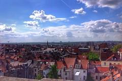 View over Brussels (sander_sloots) Tags: brussel brussels hotel view uitzicht pantone bruxelles daken roofs topfloor bovenste etage loixplein
