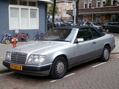 Mercedes-Benz 300 CE 2.4 cabrio 1992 nr2392 (a.k.a. Ardy) Tags: 77gdg8 softtop
