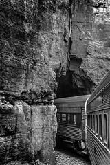 DSC_0136-EditFAA (john.cote58) Tags: mountains landscape southwest arizona nationalpark rockformation sedona rock stones valley scenic outdoors train verdecanyon clarkdale rails railroad locomotive travel metal tunnel blackandwhite monotone monochrome