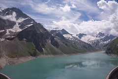 I miss the mountains (kismihok) Tags: mountains mountain kaprun austria alps clouds cloudporn water lake mountainlake reservoir snow sony nex7 1650 imissthemountains