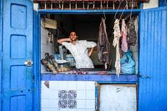 DSC03831-2.jpg (mikeydread) Tags: moroccophotography morocco marrakech essaouira sonyrx100iv atlas imlil camels blue meat butcher leaning tiles pattern