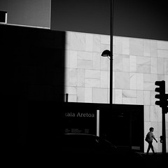 hall (bemberes) Tags: bw urban bilbao epl3