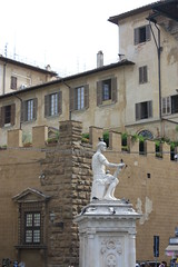 Palazzo Medici Riccardi # 1 - Florence, Tuscany, Italy 2016 (Moocha) Tags: palace palazzo medici riccardi florence tuscany italy renaissance statue cosimo de foreground