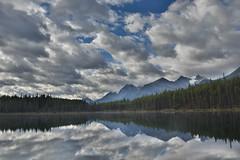 Herbert Lake (barry gahan) Tags: canada canadianrockies herbertlake lake icefieldsparkway