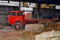 fiat 160NC (riccardo nassisi) Tags: camion abandoned abbandonato truck wreck wrecked scrap scrapyard rust rusty relitto rottame ruggine epave pavia fornace fiat 160