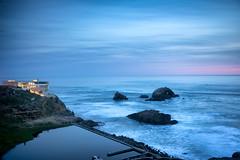 Sutro Baths at Sunset (fongpei) Tags: cliffhouse landsend ocean pacificocean rocks sanfrancisco sutrobaths sunset california unitedstates