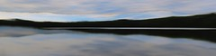 Serenity (Bobby Mou) Tags: vision meditative serene long reflection panorama blur intentional movement camera icm calm peaceful serenity clouds lake blue sky water