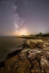 Voie Lactée à Peniscola, Espagne