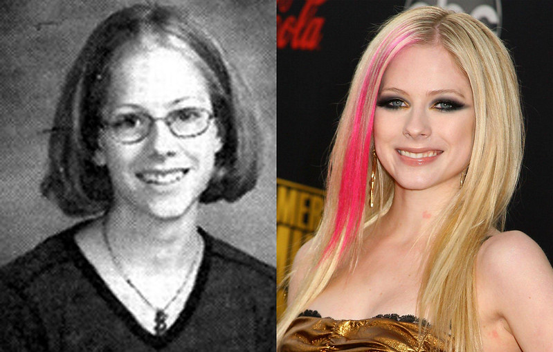 Avril Lavigne before famous: 1999 - 2000 Credit:WENN