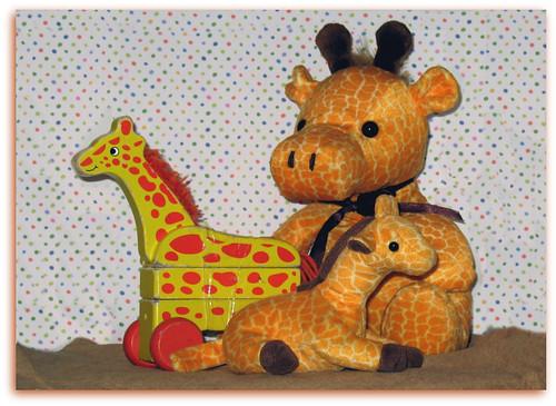 Toy Giraffes