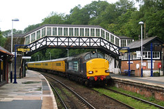 DRS 37611-37603 @ Bodmin Parkway (Sicco Dierdorp) Tags: road test train track plymouth rail parkway network recording bodmin drs class37 gsmr stblazey