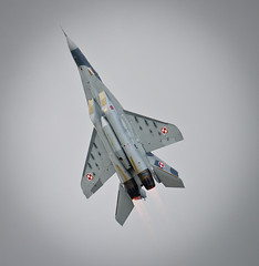 RIAT 2012 (Dan Ilenkiw) Tags: jet soviet airforce coldwar mig afterburner fighterjet fulcrum militaryjet polishairforce mig29a