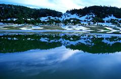 伊夫兰国家公园内的湖泊。