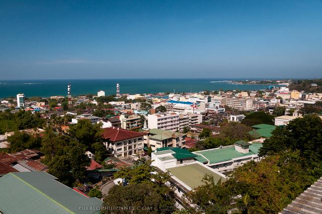 Aerial View of San Fernando - La Union Provincial Capitol - San Fernando - La Union - (012612-112150)