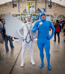 Arthur and The Tick (uncle_shoggoth) Tags: california comics costume san sandiego cosplay diego convention tick costuming comiccon geeky sdcc the