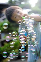 Soap bubbles#4 (SYU*2) Tags: 35mm nikon soft snap soapbubbles  d300s dreamyandethereal