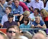 Steven Spielberg, Daniel Day Lewis and guests watch Bruce Springsteen perform at The RDS Dublin, Ireland