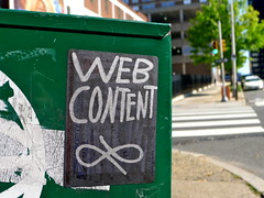 Web Content (-Curly-) Tags: streetart art graffiti sticker stickerart curly