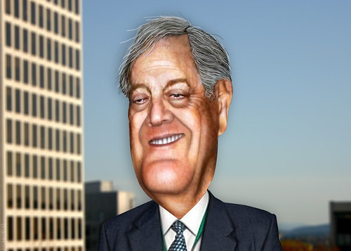 David Koch - Caricature, From FlickrPhotos