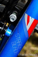 Just Messing - Bike (knorth26) Tags: blue red white bike bicycle wheel cycle push brake blade redwhiteblue pushbike