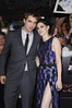 Robert Pattinson, Kristen Stewart The Twilight Saga: Breaking Dawn - Part 1 World Premiere held at Nokia Theatre L.A. Live Los Angeles, California