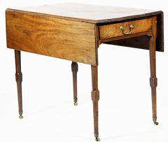 63. ca. 1800 George III Breakfast Table