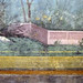 Painted Garden, Villa of Livia, detail with barriers