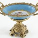 272. Ormolu Mounted Porcelain Center Bowl