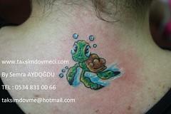 Turtle woman tattoo / Kaplumbaa bayan dvme (taksim beyolu dvmeci) Tags: woman art tattoo artist femme models drawings istanbul tattoos taksim examples vrouwen tatouage bayan mannen kiz modle modelleri dovme izimler dovmeciler taksimdovme dovmemodelleri dovmesi