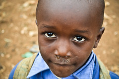 Snotty noses & hope | Kibera slum | Kenya (molly.layde) Tags: poverty africa boy portrait eyes child faces kenya kibera slum