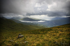 View from Aonach Mor (bella_blue_star) Tags: mountain landscape scotland highlands fortwilliam nevis nevisrange locheil aonachmor