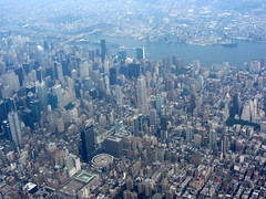 Midtown Manhattan from the Air (Peter Radunzel) Tags: newyorkcity usa newyork skyline skyscraper manhattan midtown eastriver aerialphotograph midtownmanhattan