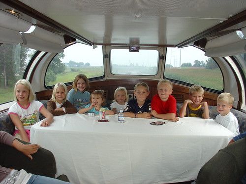 Family travel - Northern Sky private rail car