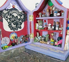 Miniature Witch Spell Cabinet to Grant Wishes~ 1:12th Scale (Enchanticals~ Death in Family) Tags: wood red black green bird nature yellow miniature beads key cabinet furniture handmade witch snake lace lavender spell chain fantasy bluebird foundobjects etsy dangling striped portals enchanted dollhouse dioramas scrolls littlethings antiquelace alteredfurniture alteredboxes 112scale roomboxes 112thscale flickraward dollhouseminiature onetwelfthscale artistmade etsyteams minimakers faeteam damteam scaledollhouseminiature dollsandminiatures teammids enchanticals miniaturedollhousescale minitreasures scaleoneinch handcraftedminiatures miniaturecabinet fantasycraft enchanticalsetsy dollhousecabinet miniaturesindollhousescale scaleonetwelfth 112scaledollhousescale alteredboxesminiatures cabinetwithdoor spellcabinet ethaphysical granterofwishes