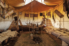 "Nouic ""le clan du bison"" (french indian camp) (Laurent VALENCIA) Tags: costumes camp night french buffalo shoot clothes indians indien buffalos tipi limousin tepee indiens tipis traditionnel tepees traditionnal coux nouic"