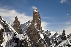 TRANGO TOWER , PAKISTAN (TARIQ HAMEED SULEMANI) Tags: travel pakistan mountains tower nature colors trekking canon photography north sensational peaks northernpakistan trango skardu supershot trangotower abigfave mountainsofpakistan concordians sulemani panoramafotogrfico tariqhameedsulemani