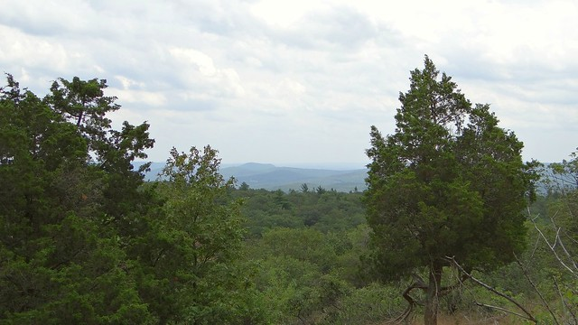 View from the north end of the Bearfort Ridge trail